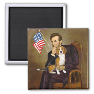 Lincoln-Beagle7 Imán