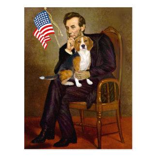Lincoln-Beagle7 Tarjetas Postales