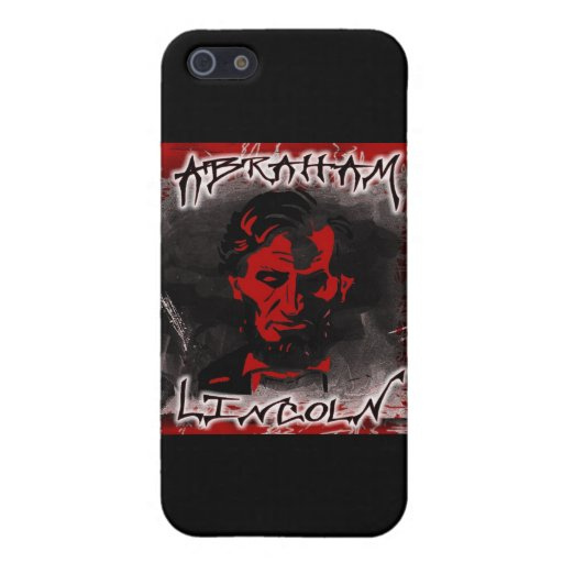 Lincoln Blood-Red Horror Star iPhone 5/5S Cases