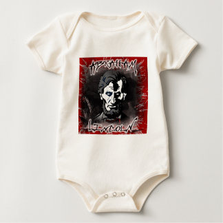 Lincoln Bloodless Horror Star Baby Bodysuit