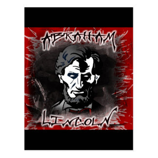 Lincoln Bloodless Horror Star Postcard