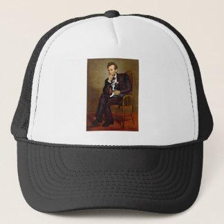 Lincoln -Boston Terrier #4 Trucker Hat