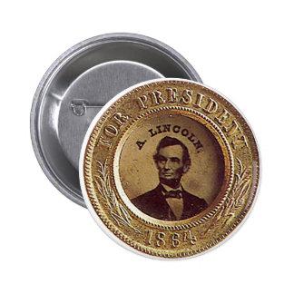 Lincoln - botón pin