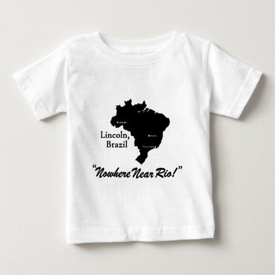 Lincoln, Brazil Baby T-Shirt