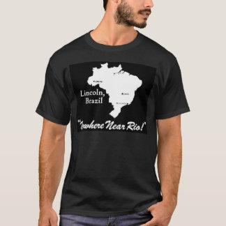 Lincoln, Brazil Dark T-Shirt