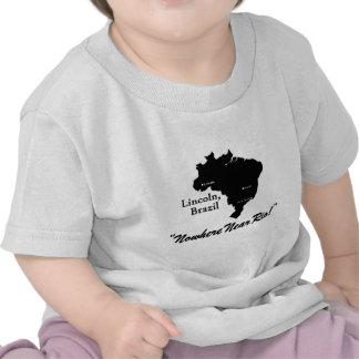 Lincoln, Brazil Tee Shirts