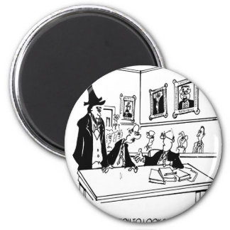 Lincoln Cartoon 5488 Magnet