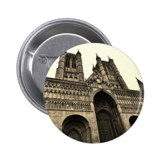 Lincoln cathedral pin