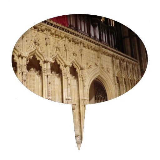 Lincoln Cathedral Cake Topper