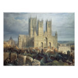 Lincoln Cathedral from the North West, c.1850 Print