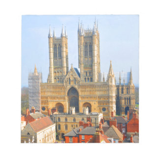 Lincoln cathedral notepad