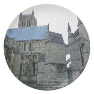 Lincoln Cathedral Party Plates