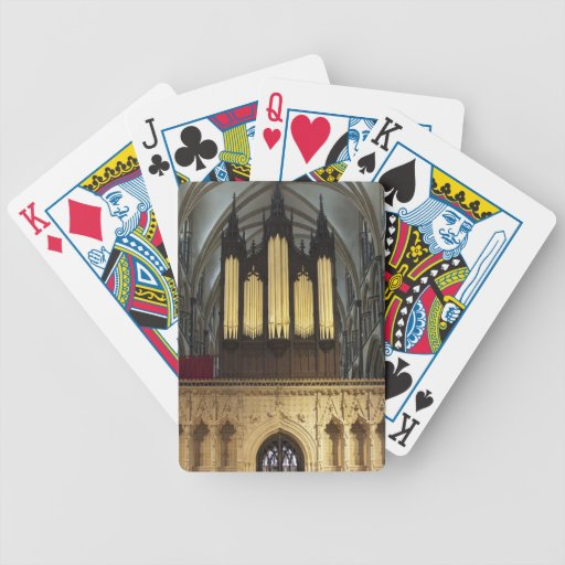 Lincoln Cathedral playing cards