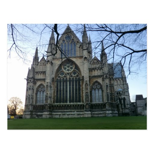 Lincoln Cathedral Post Card