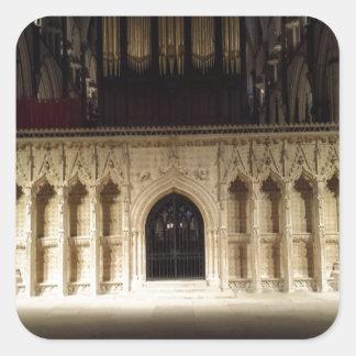 Lincoln Cathedral Square Sticker