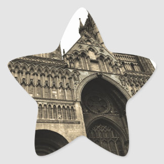 Lincoln cathedral star sticker