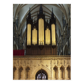 Lincoln Cathedral,  UK postcard