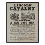 Lincoln Cavalry Poster