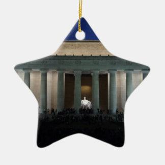 Lincoln Ceramic Ornament