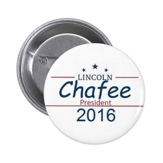 Lincoln CHAFEE 2016 Button
