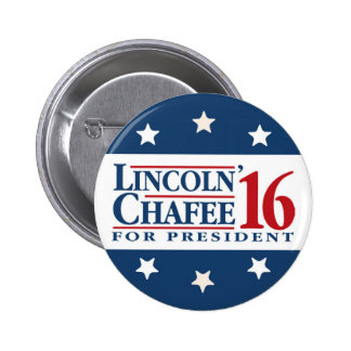 Lincoln Chafee 2016 2 Inch Round Button