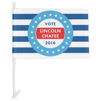 Lincoln Chafee 2016 Car Flag