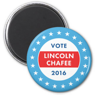 Lincoln Chafee 2016 Imán Redondo 5 Cm