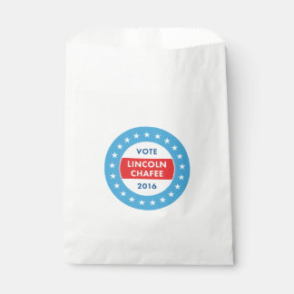 Lincoln Chafee 2016 Favor Bags