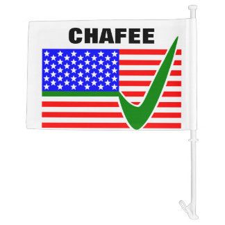 Lincoln Chafee For President 2016 Car Flag