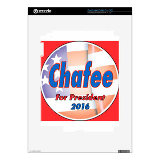 Lincoln Chafee for President 2016 Decals For iPad 2