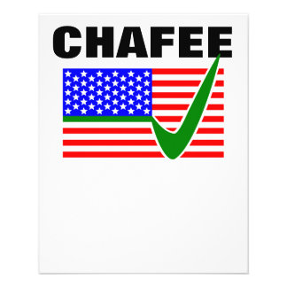 Lincoln Chafee For President 2016 Flyer