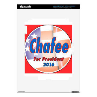 Lincoln Chafee for President 2016 iPad 3 Skin