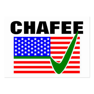 Lincoln Chafee For President 2016 Large Business Card