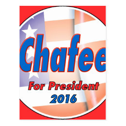 Lincoln Chafee for President 2016 Postcard