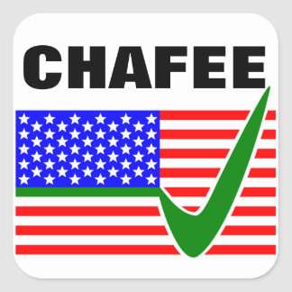 Lincoln Chafee For President 2016 Square Sticker
