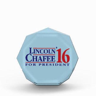 Lincoln Chafee For President Acrylic Award