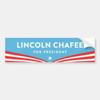 Lincoln Chafee for President Bumper Sticker