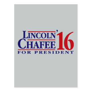 Lincoln Chafee For President Postcard