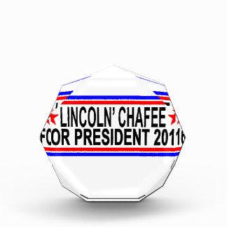 Lincoln Chafee For President Shirts ;.png Acrylic Award