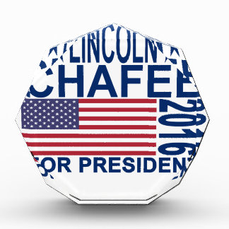 Lincoln Chafee For President Shirts ''.png Acrylic Award
