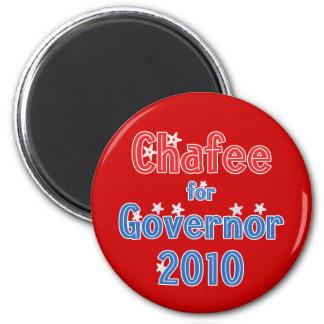 Lincoln Chafee para el diseño de la estrella del g Imán Redondo 5 Cm