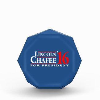 Lincoln Chafee para el presidente