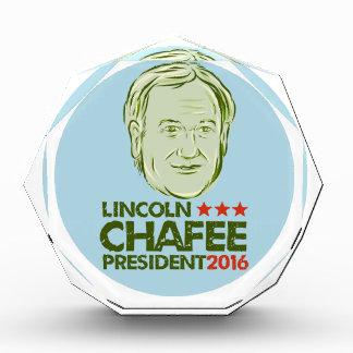 Lincoln Chafee President 2016 Acrylic Award