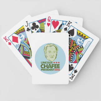 Lincoln Chafee President 2016 Bicycle Playing Cards