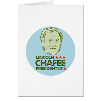 Lincoln Chafee President 2016 Card