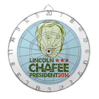 Lincoln Chafee President 2016 Dart Boards