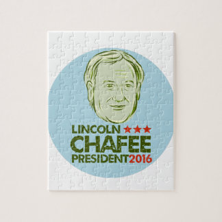 Lincoln Chafee President 2016 Jigsaw Puzzle