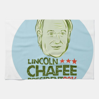 Lincoln Chafee President 2016 Towel