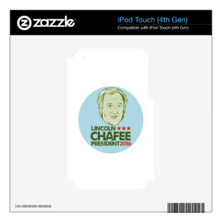 Lincoln Chafee President 2016 Skins For iPod Touch 4G