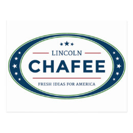 Lincoln Chafee presidential election 2016 Postcard